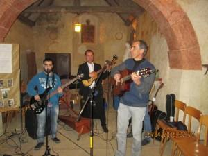 Le concert à la 2ème pose dans la petite chapelle.
