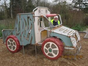 Tracteur pour (grand) enfant