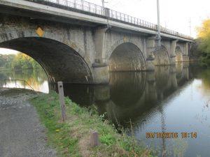 notre pont pour rejoindre le parking