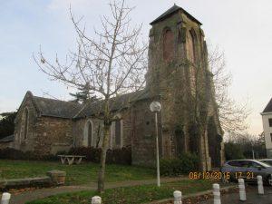 Eglise de St Laurent (désaffectée depuis longtemps)