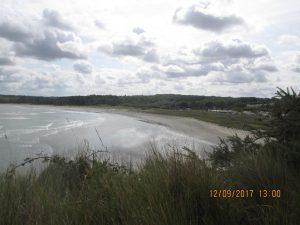 la grande plage sans algue verte!