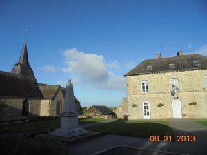 Mairie et église de Romazy 09/10/2017