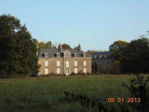 le château de la Maison Neuve (19e) Romazy 09/10/2017