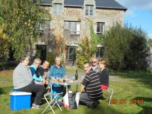 Romazy 09/10/2017 goûter au moulin de Vieux Vy sur Couesnon