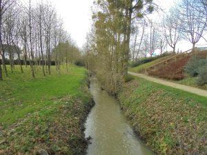 le ruisseau l'Yaigne!
