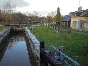 canal Ille et Rance à la halte Robinson